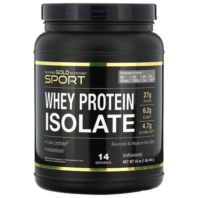 Isolate California Gold Nutrition