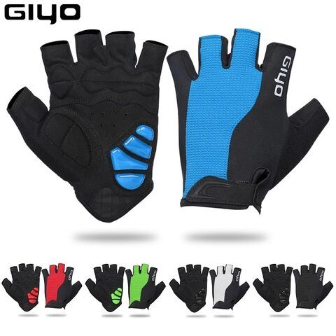 Giyo 2020 Breathable Lycra Fabric Unisex Cycling Gloves